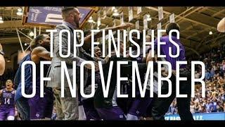 Top 10 Finishes of the Month | November 2019