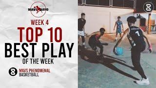 ANKLE BREAKER ni Christian yung kalaban Mavs Top 10 Plays of the Week | Week 4 | Dayo Series 2.0