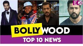 Top 10 Bollywood News| क्या Vicky Kaushal ने किया Lockdown  का उल्लंघन|Corona ने ली इस Rapper की जान