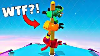 FALL GUYS FAILS & Epic Wins! #4 (Fall Guys Ultimate Knockout Funny Moments)