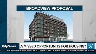 A missed opportunity for housing?