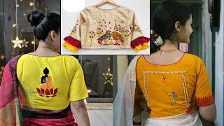 Trending model new blouse designs for woman and girls // stylish trendy beautiful blouse design 2020