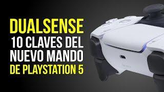 10 DETALLES CLAVE de DUALSENSE, el NUEVO MANDO de PLAYSTATION 5