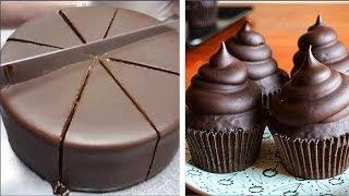 My Favorite Chocolate Cake Decorating Ideas   Easy Cake Hacks   So Yummy Chocolate Cake Recipes
