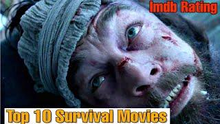 Top 10 Best Survival Movies of All time As per Imdb Rating Available in Youtube or Netflix