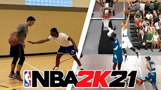 CREATING my IRL BUILD in NBA 2K21 - DEMIGOD POINT GUARD BUILD 2K21