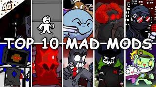 Top 10 Mad Mods - Friday Night Funkin'