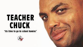 CHARLES BARKLEY IS TEACHER CHUCK