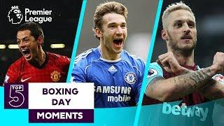 Top 5 Boxing Day Matches | Manchester United, Chelsea, Manchester City