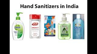 Top 10 Best Hand Sanitizers in India 2020