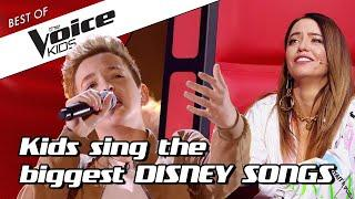 TOP 10 | Enchanting DISNEY covers in The Voice Kids