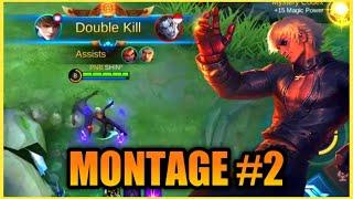 GUSION MONTAGE|FAST HAND COMBO|MOBILE LEGENDS