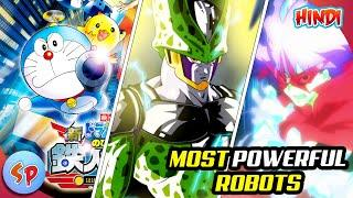 Top 10 Most Powerful Robots in Anime | Explained in Hindi | Anime in Hindi