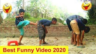 New Top Funny Comedy Video 2020_Very Funny Stupid Boys_Episode 04--Indian Fun I Hashi Multimedia