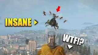 *NEW* WARZONE 200 IQ PLAYS - Warzone WTF & Funny Moments #10