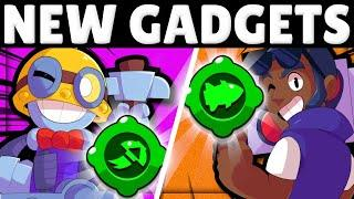 NEW Gadgets for Carl & Brock! | Sneak Peek & BEST Builds!