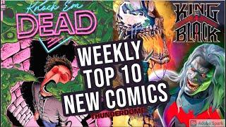 TOP 10 NEW KEY COMICS TO BUY FOR DECEMBER 2ND 2020 - NEW COMIC BOOKS REVIEWS THIS WEEK - MARVEL DC