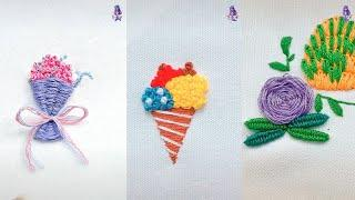 Top 10 Amazing DIY Ideas - Hand Embroidery Art with Simple Stitches