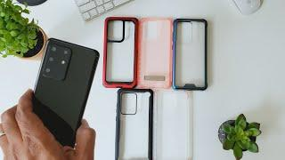 Top 5 Samsung Galaxy S20 Ultra Clear Cases...