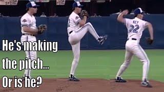 MLB Nasty Left Handed Pickoff Moves Compilation