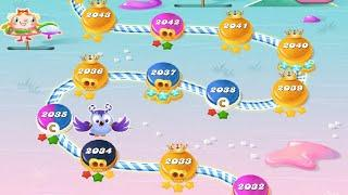 How to Candy crush  level 2032 V 2034  Level Play Geme Gemes || Candy erush saga game 2020