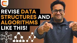 Best Way to Revise Data Structures and Algorithms for Placements
