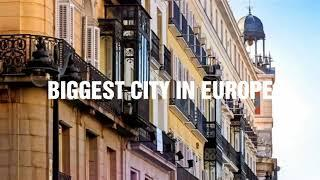 TOP 10 BIGGEST CITY IN EUROPE