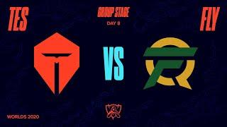 TES vs FLY | Worlds Group Stage Day 8 | Top Esports vs FlyQuest (2020)
