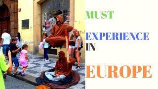 Must Experience in Europe | Europe Top Attraction-Europe Travel | Prague Travel EUROPE STREET ARTIST