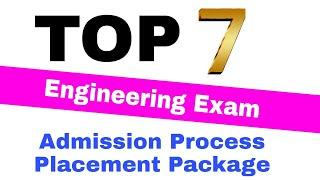 TOP 10 Engineering Exam | Admission , Process , Placement, Package | Chandrahas Sir