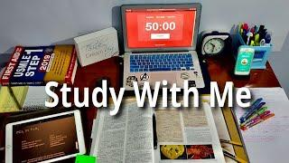 Study With Me LIVE - 4 Hours | Forest | Pomodoro | Med Student