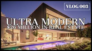 $26 MILLION IN REAL ESTATE! (Brand new ultra modern masterpiece) VLOG 003