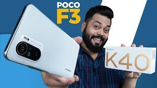 Redmi K40 AKA POCO F3 Unboxing And First Impressions ⚡ 120Hz AMOLED, SD 870 & More