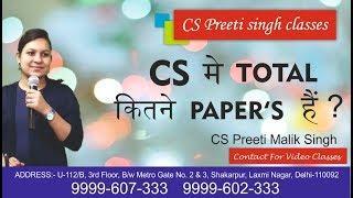 How to Become Company Secretary I ICSI I best cs classes; no.1 cs classes; cs executicve
