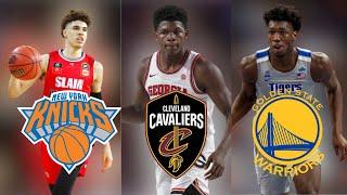 The Most ACCURATE 2020 NBA Mock Draft (1-10)