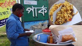 Roadside Selling Jhal Muri Street Food | How To Make Masala Muri Eating Show 2020 | Jhal Muri Recipe
