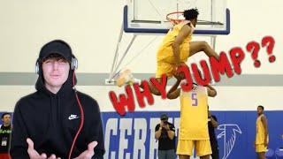 BRITISH guy reacts to TOP 10 HIGH SCHOOL DUNKERS!! 2020 Edition