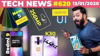 5 New Realme Phones,Redmi 9 on Helio G70,256MP Smartphone,Realme UI, Redmi K30 144hz Display-TTN#620