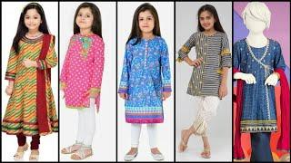 Stylish Branded 46 Dress Designing Idea's for 3 To 10 Year Girls/NEW Mid Summer Collection