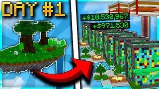 CRAZY EPISODE 1 START VS BIGGEST ISLAND! | Minecraft Skyblock