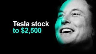 Tesla Stock $2,500 Price Target