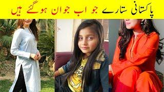 Child Stars Who Became Famous Celebrities Now | Pakistani Child Stars Then and Now