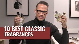 Top 10 Best CLASSIC Men's Fragrances | Most Complimented Fragrances