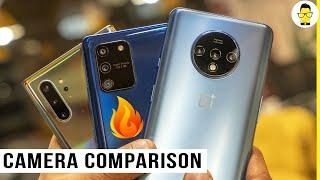 Galaxy S10 Lite vs OnePlus 7T vs Galaxy Note 10+ camera comparison - shocking results!