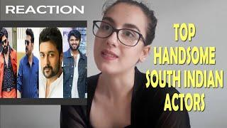 Top 10 Handsome South Indian Actors Reaction Foreign AirHostess Girl
