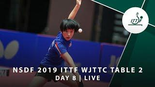 Day 8 | 2019 ITTF World Junior Table Tennis Championships - Table 2 Session 1 (Semi-finals)