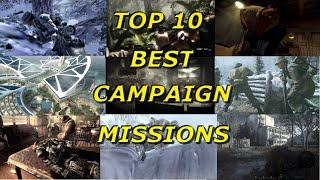 Top 10 Best Call of Duty Campaign Missions - Call of Duty History - Multi COD Gameplay