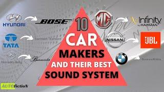 10 Car Makers And Their Best Sound Systems | Car Music System