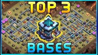 BEST TOWN HALL 13 WAR BASES -WITH BASE LINKS TOP 3 TH13 CWL / WAR BASES 2020