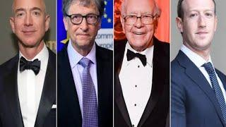 WORLDS TOP 10 BILLIONAIRES AND THEIR NET WORTH//COMPANY AND COUNTRY